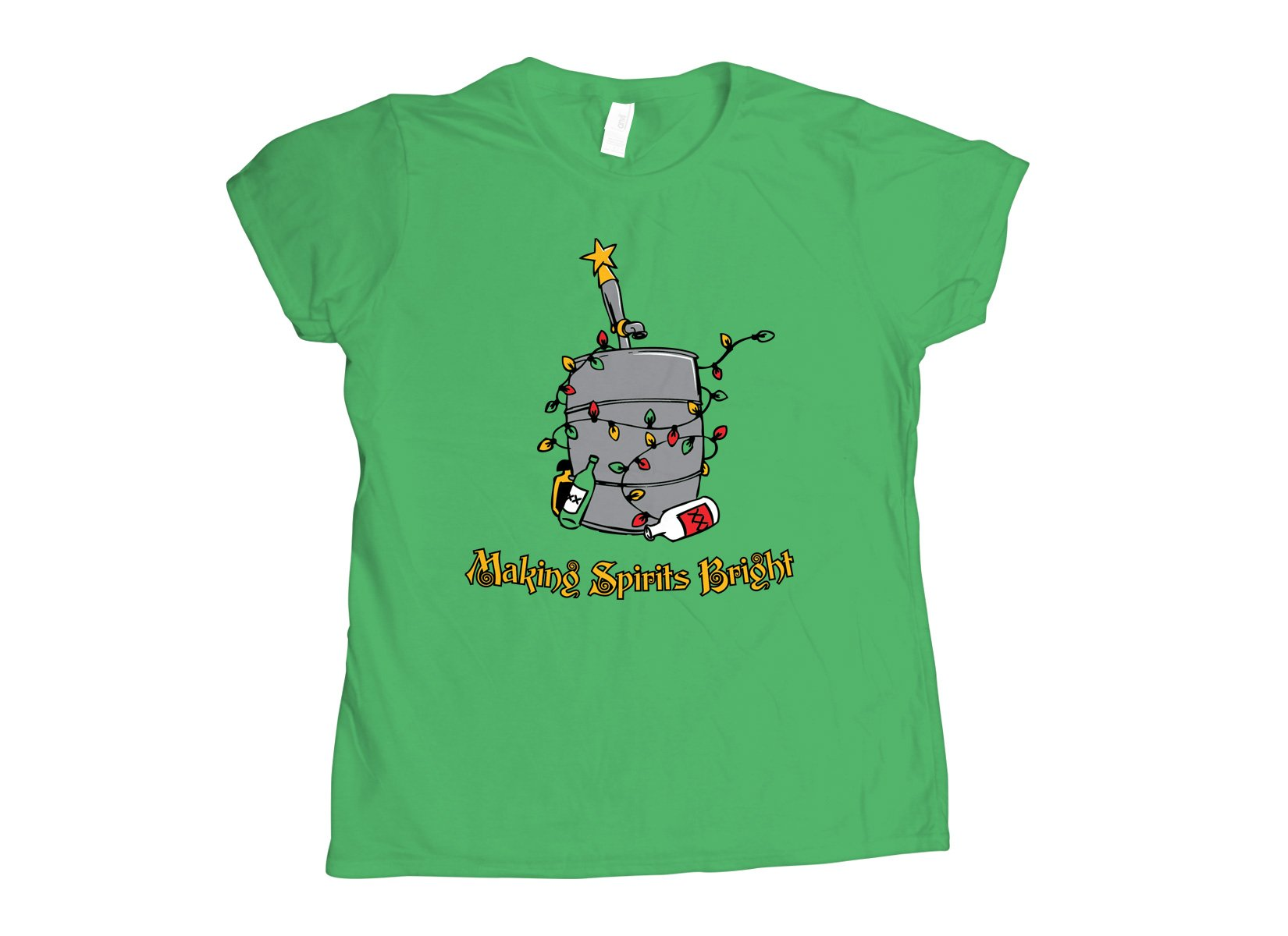Making Spirits Bright T Shirt