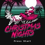 Christmas Nights T Shirt (Miami Nights: Nintendo)