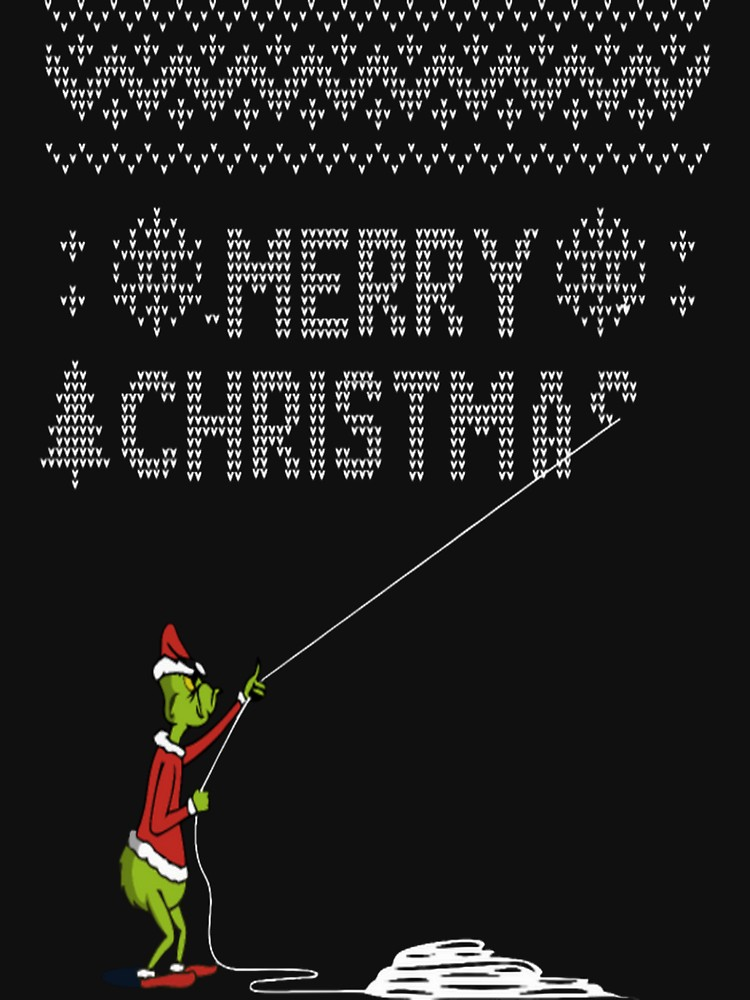 Grinch Stealing Christmas T Shirt