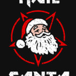 Hail Santa Devil Star T Shirt