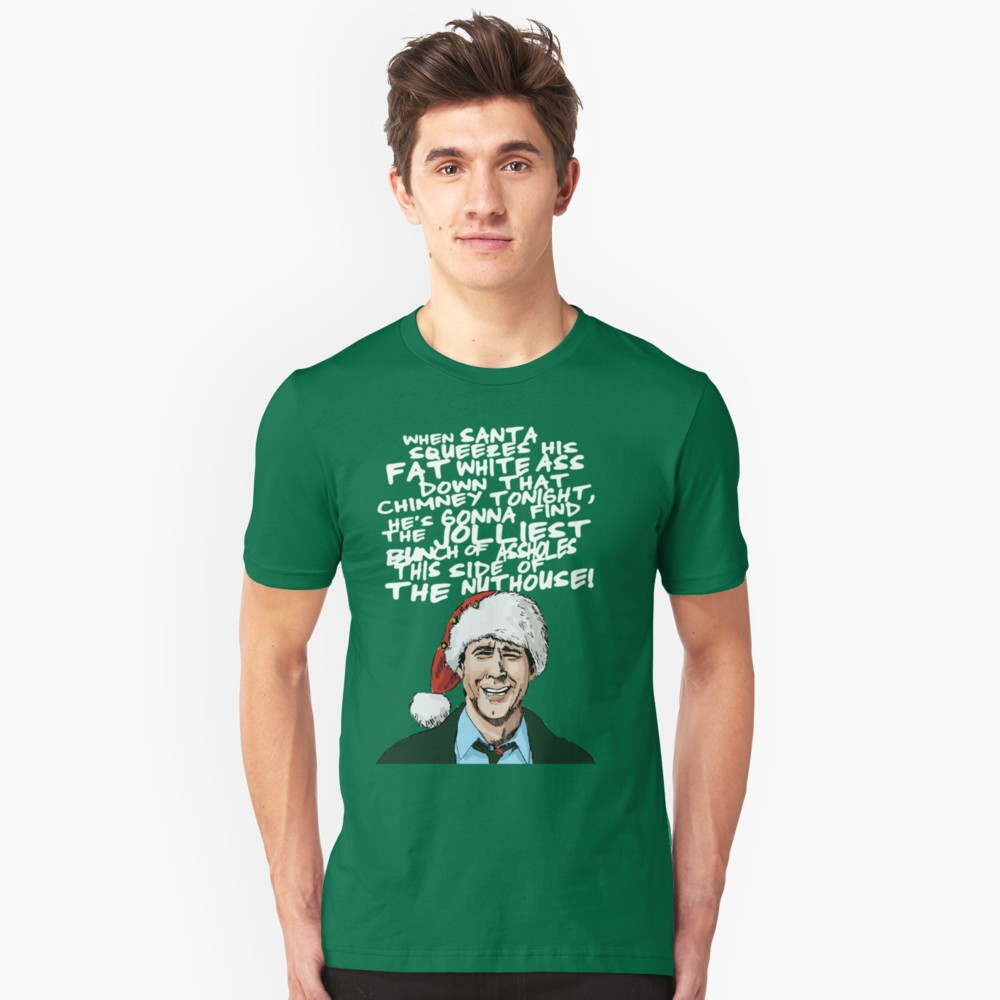 Chevy Chase Christmas Vacation T Shirt (National Lampoon's)
