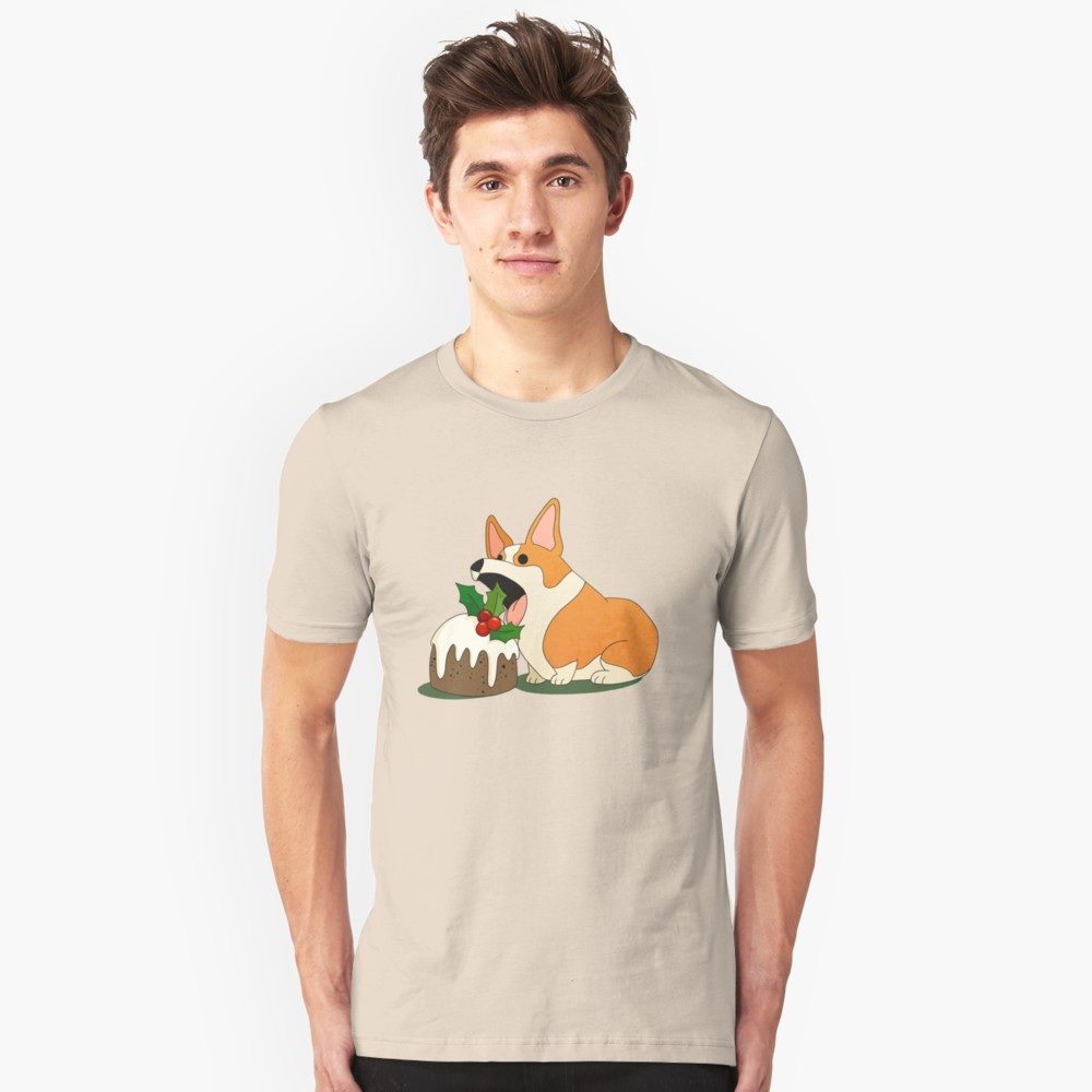 Christmas Corgi T-Shirt