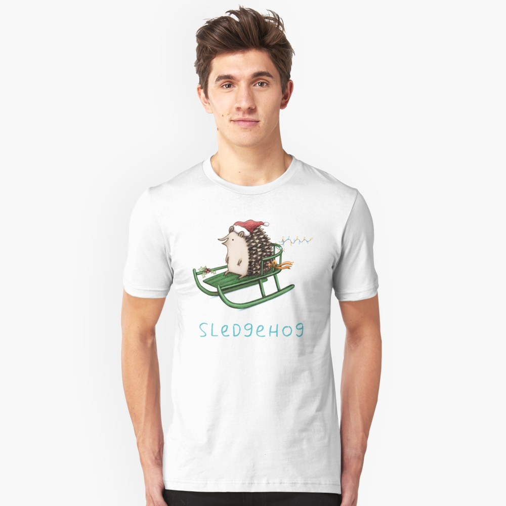 Sledgehog Sledding T Shirt