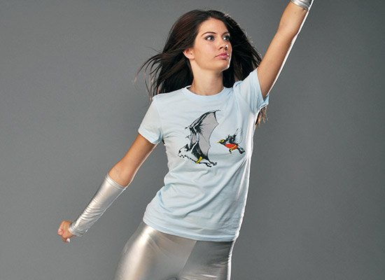 Bat and Robin T Shirt (Batman & Robin)