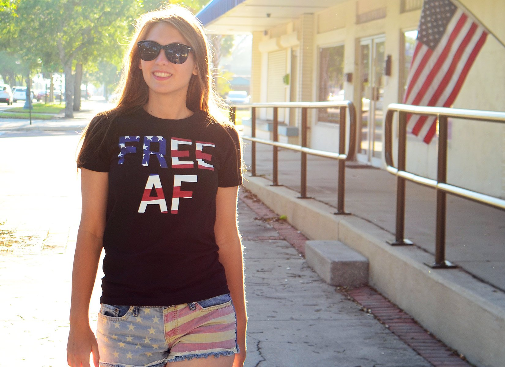 c367623b0ec87 Funny America T Shirts: Freedom Lets You Laugh At Hilarious Shit