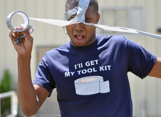 I'll Get My Tool Kit Duct Tape T-Shirt