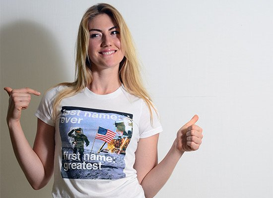 Last Name: Ever First Name: Greatest Moon Landing T Shirt