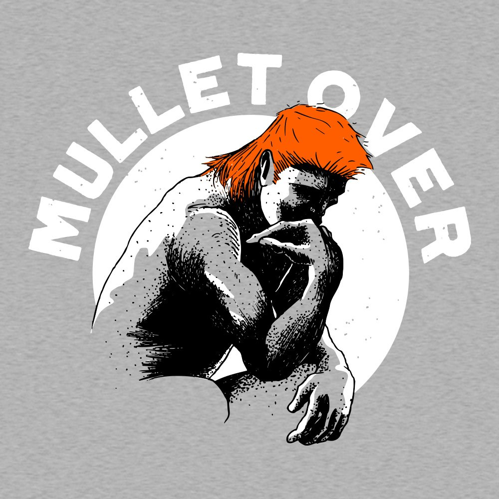 Mullet Over T Shirt