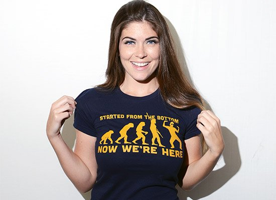 Started From the Bottom Now We're Here T-Shirt