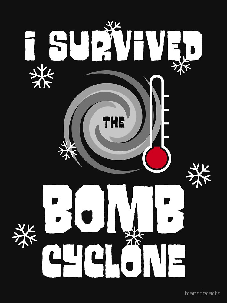 I Survived the Bomb Cyclone T Shirt