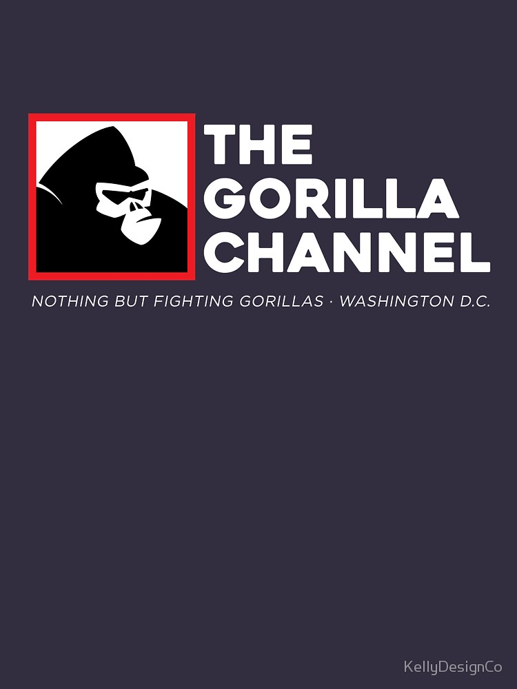 The Gorilla Channel Nothing But Fighting Gorillas T Shirt