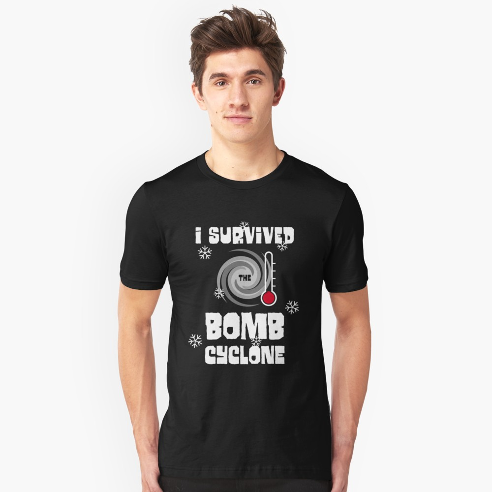 I Survived the Bomb Cyclone T-Shirt