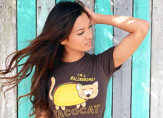 Taco Cat I'm a Palindrome T Shirt