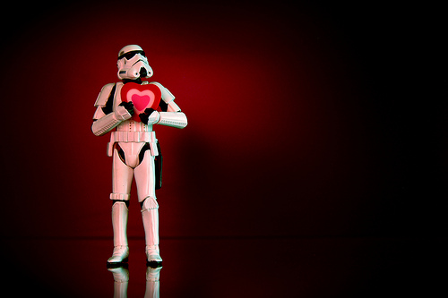 star wars valentine photo