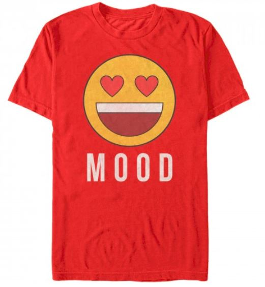Valentine's Day Mood Emoji T Shirt