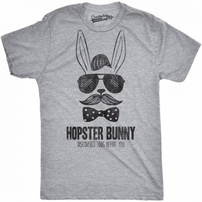 Hopster Bunny Discovered Eggs Before You T Shirt