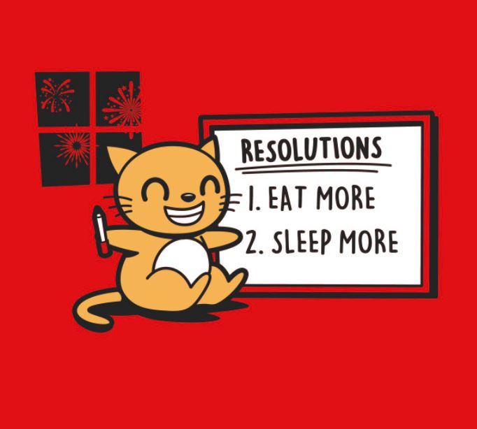 Mew Year Resolutions T Shirt