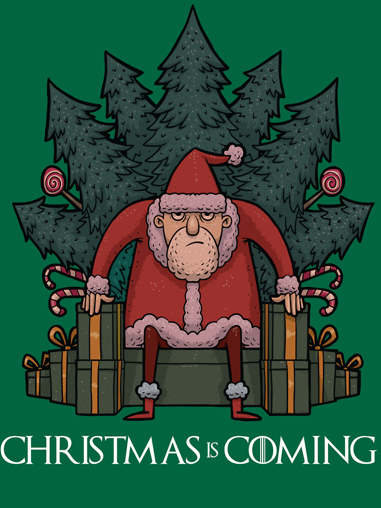 Christmas is Coming Santa T-Shirt (Game of Thrones)
