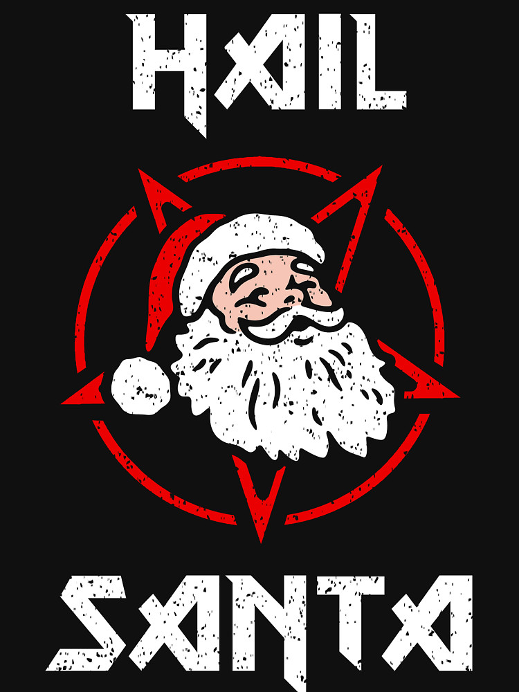 Hail Santa Devil Star T-Shirt