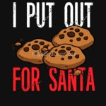 I Put Out For Santa T Shirt (Cookies)