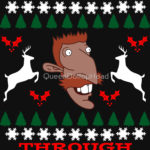 Smashing Through the Snow T Shirt (Nigel Thornberry Christmas)