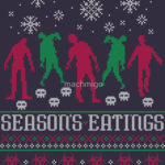 Season's Eatings T Shirt (Zombies)