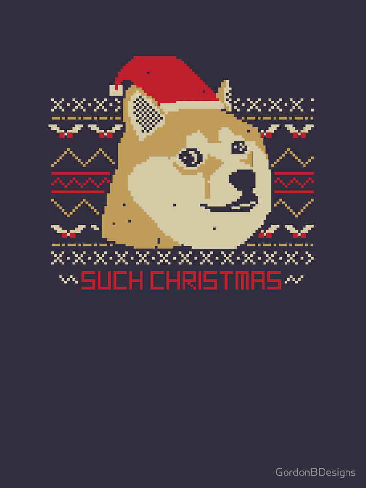 Such Christmas T Shirt (Doge)