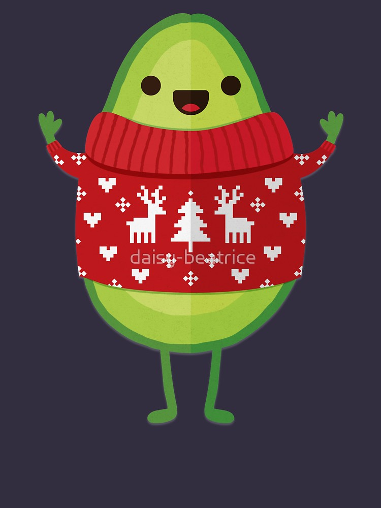 Avocado Merry Christmas T-Shirt