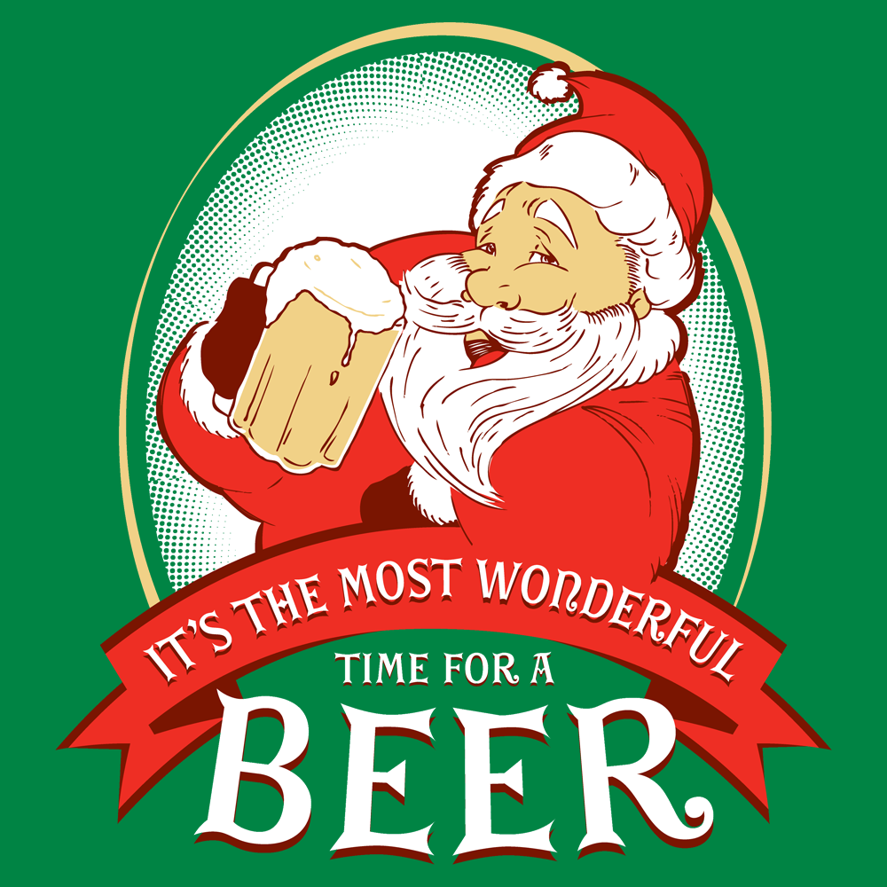 It's the Most Wonderful Time For a Beer T-Shirt