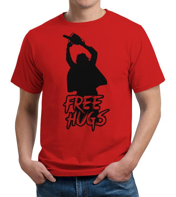 Leatherface Hugs T Shirt
