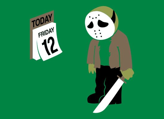 Friday the 12th T-Shirt (Jason Vorhees)