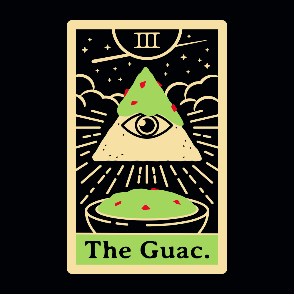 The Guac Tarot T Shirt