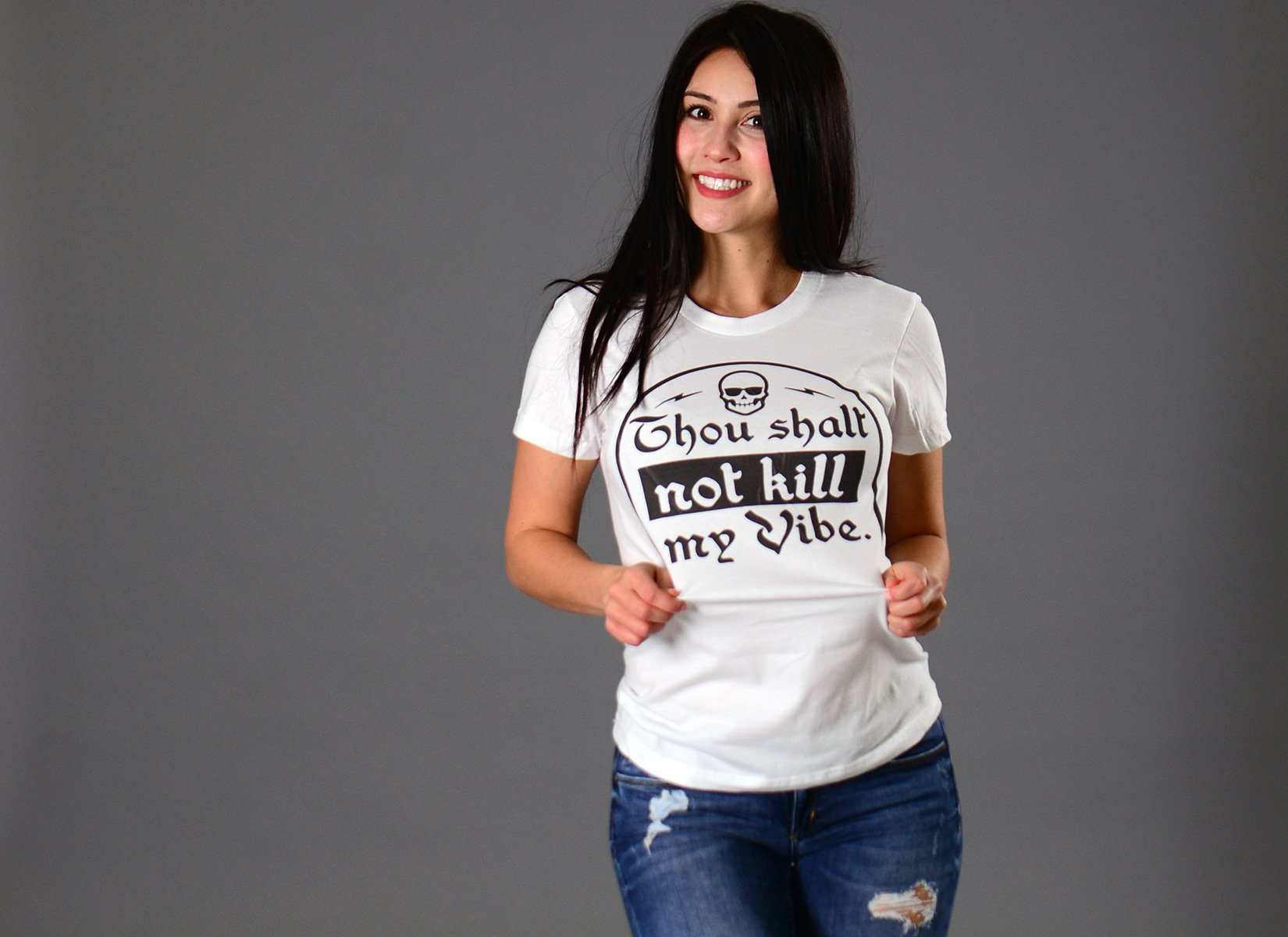 Thou Shalt Not Kill My Vibe T-Shirt