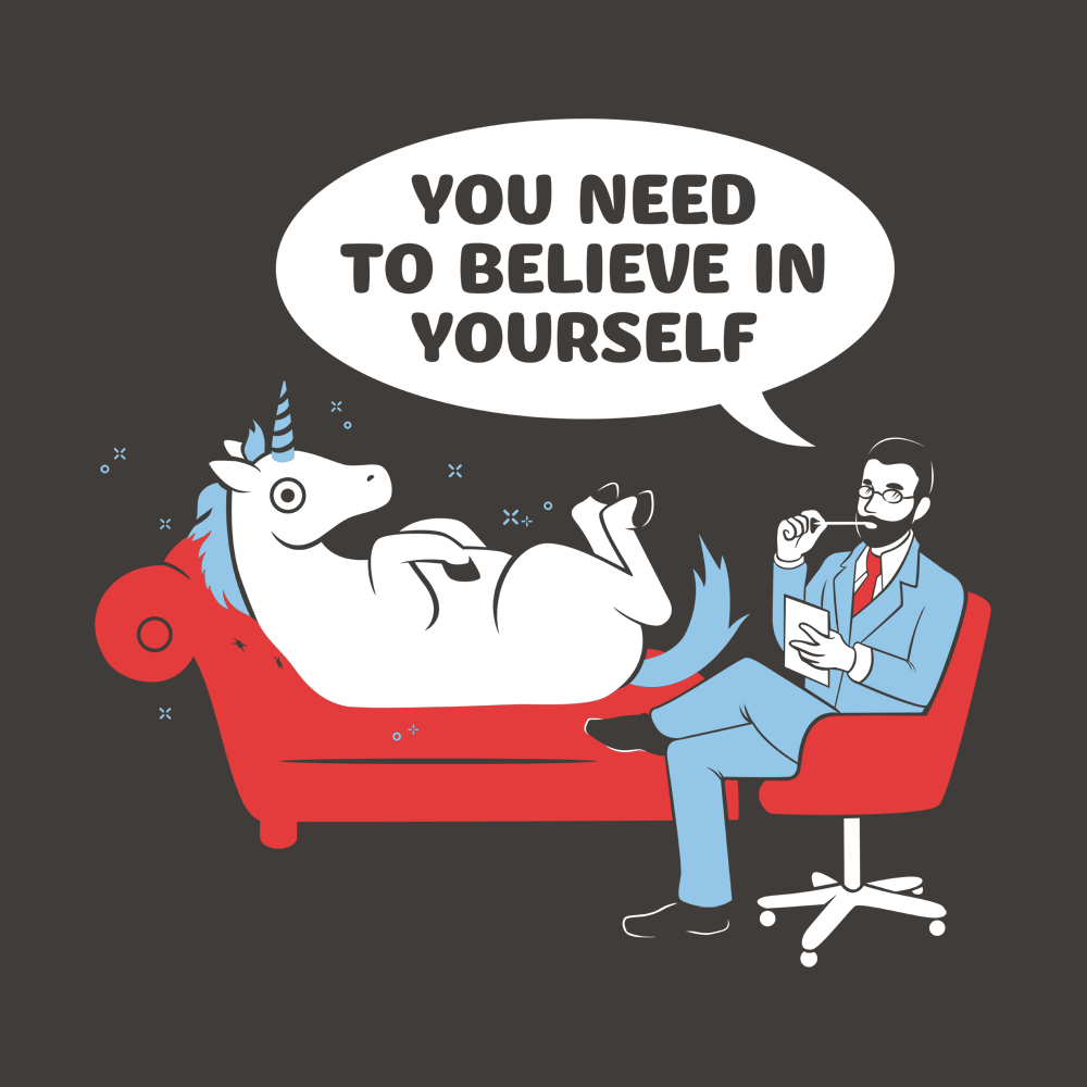 You Need To Believe In Yourself Unicorn T Shirt