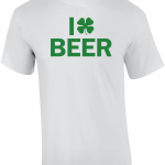 I Shamrock Beer T Shirt
