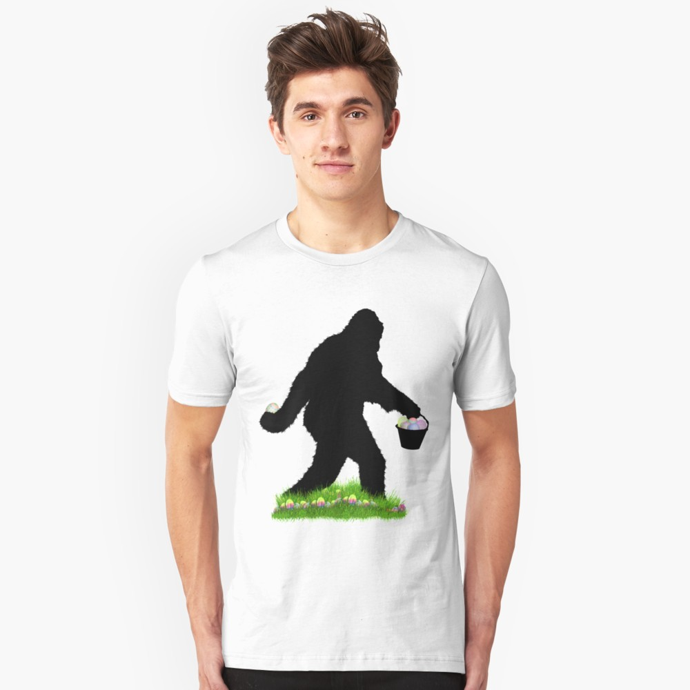 Gone Easter Squatchin T Shirt