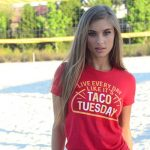 Taco Shirts: Nothing Else Quite Says I'm a Fun and Nutritious Person
