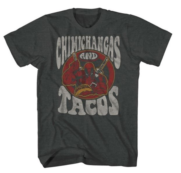 Deadpool Chimichangas and Tacos T Shirt