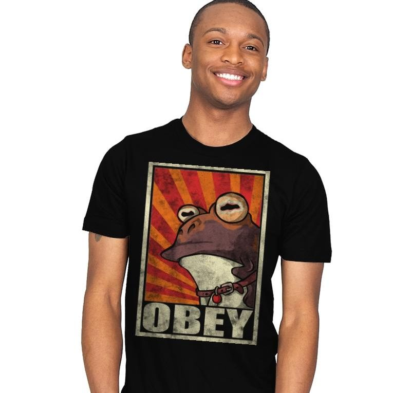 Obey the Hypnotoad T Shirt