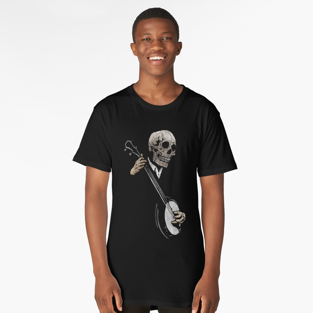 Skullboy Banjo Blues T Shirt