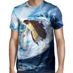 Surfing Jesus T Shirt